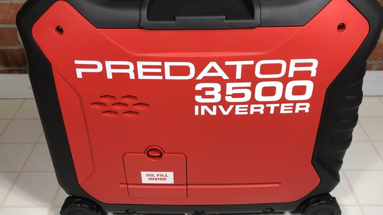 How to start Predator 3500 generator
