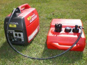 Does Honda EU2200i have a fuel pump?
