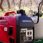 Can Honda EU2200i run on propane?