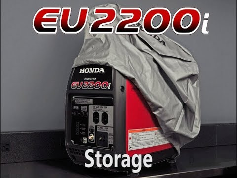 How to store Honda EU2200i
